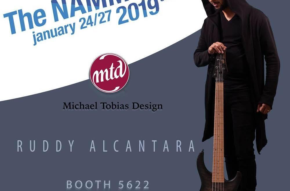 Michael Tobias our artist present at NAMM 2019