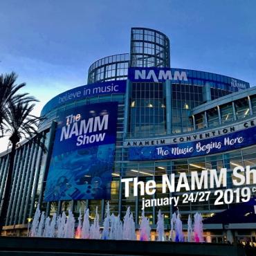 ErgoStraps Go To NAMM California 2019
