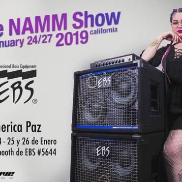 América Paz Adds to the NAMM 2019